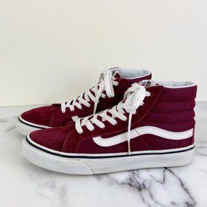 Vans Sk8-Hi Burgundy Port Royale/True White Shoes